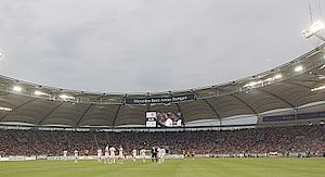 Mercedes-Benz-Arena Stuttgart Bad-Cannstatt